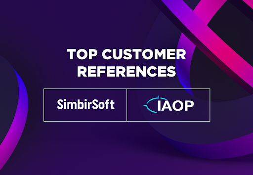 IAOP has Included SimbirSoft to Top Customer References Category