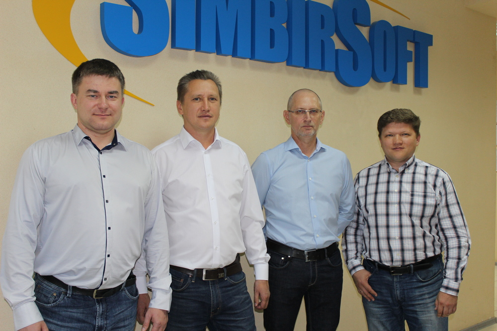 Co-founders of the SimbirSoft company