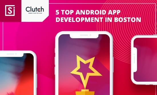 Number 5th among Boston developers according to Clutch