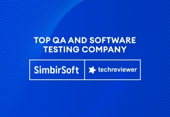 SimbirSoft‌ ‌is‌ ‌Among‌ ‌Top‌ ‌QA‌ ‌and‌ ‌Software‌ ‌Testing‌ ‌Companies‌